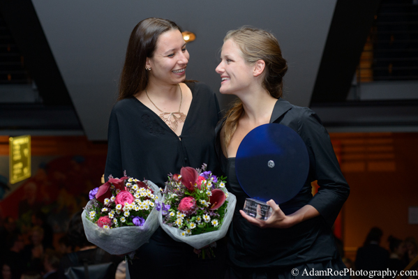 "Anna Zohra Berrached and Cosima Maria Degler, direcotr and producer of No Fear Award winner ""Zwei Mütter"", Two Mothers"