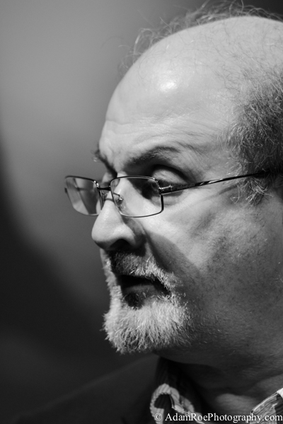 Salman Rushdie at the festival