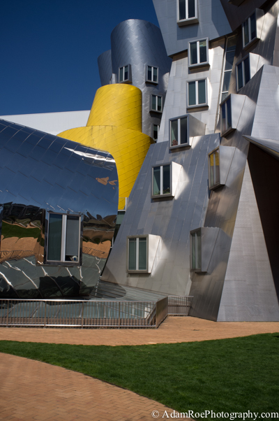 The Stata Center on MIT's Campus
