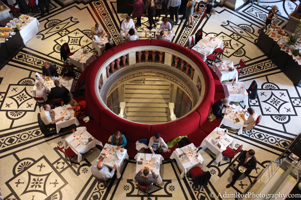 A museum cafe in Vienna