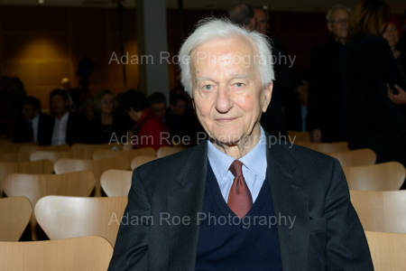 Fromer President Richard von Weizsäcker attending what would have been Willy Brandt's 100th Birthday