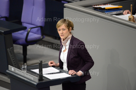 Christina Kampman (SPD) gave her first speech at the Bundestag on the necessity for reform.
