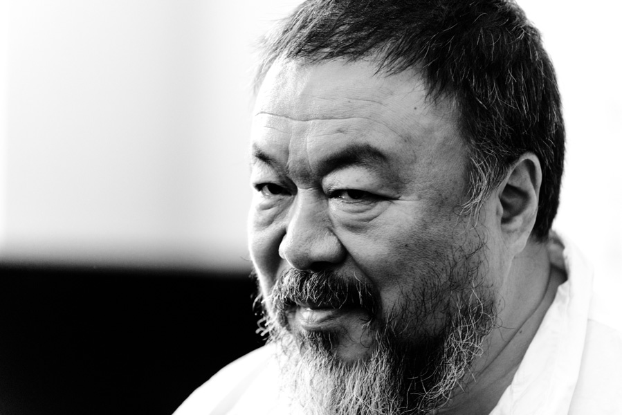 Artist Ai Weiwei in Berlin on August 13th, 2015.